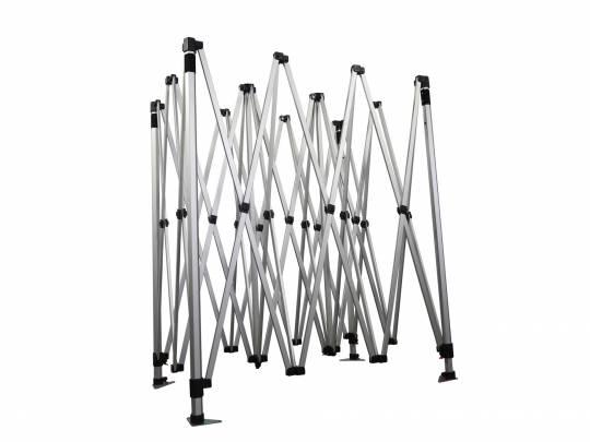 Alumíniumváz hatszögű 40 - 3x4,5m