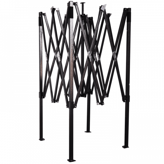 Acélváz 2x2m