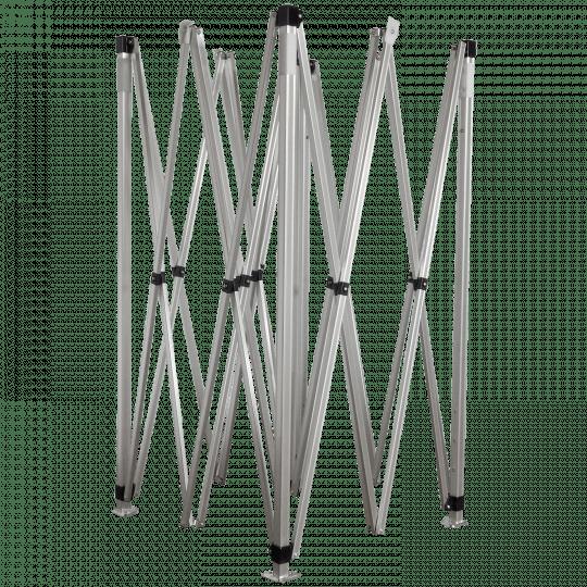3x3m méretű alumínium szerkezet