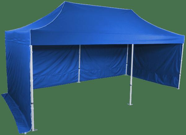 Összecsukható sátor 3x6m - alumínium hexagon