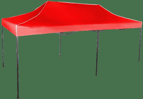 Gyorsan összecsukható sátor 3x6 m - acél