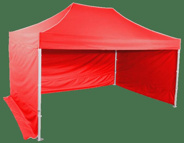 3x4,5m szétnyitható sátor – Profi hexagonális alumínium