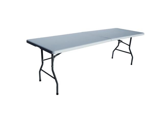 Összecsukható műanyag asztal