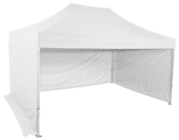 Gyorsan összecsukható sátor 3x4,5m – profi hexagonális alumínium