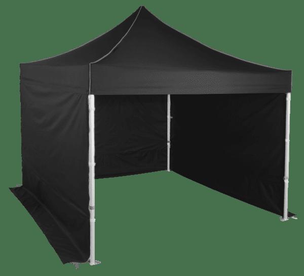 Gyorsan összecsukható sátor 3x3m – profi hexagonális alumínium