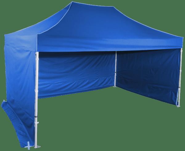 Gyorsan összecsukható sátor 3x4,5m - hexagonális alumínium