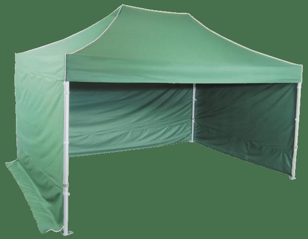 3x4,5m szétnyitható hexagonális sátor – Profi alumínium
