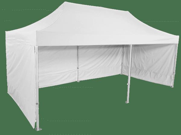 Gyorsan összecsukható  sátor 3x6m – profi hexagonális alumínium