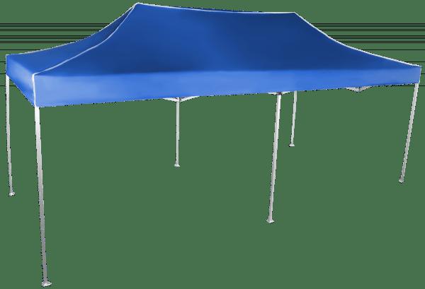 Gyorsan összecsukható sátor 3x6m - alumínium