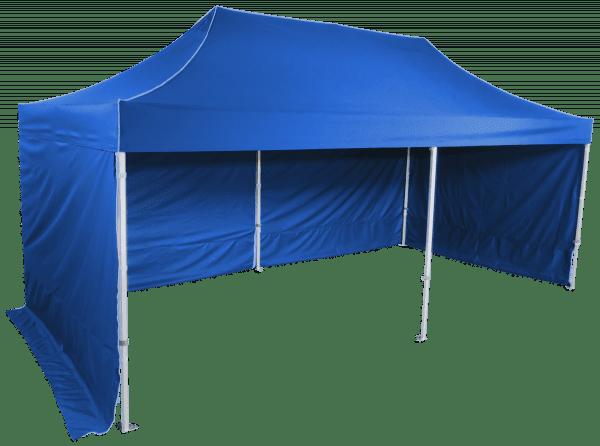 Gyorsan összecsukható  sátor 3x6 m – profi hexagonális alumínium