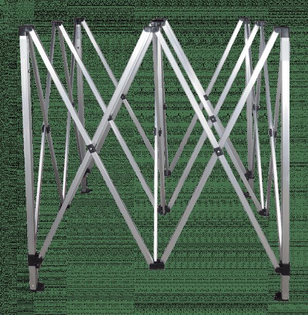 Alumíniumváz 3x3m méretben