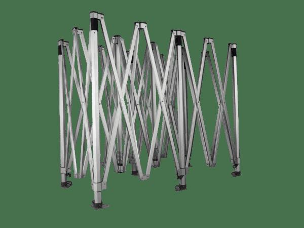 Alumíniumváz profi hatszögű 50 - 3x6m