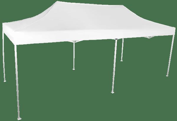 Gyorsan összecsukható sátor 3x6 méteres - alumínium