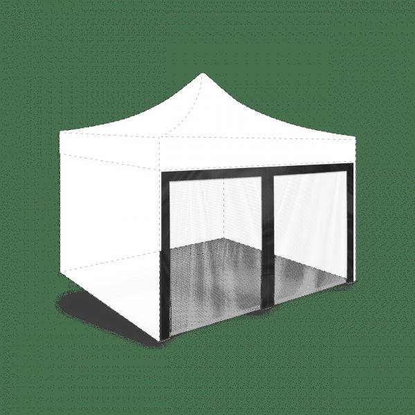 Szúnyogháló hexagonális sátorra